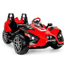 Carro Electrico Peg Perego Polaris Slingshot 12 Volt Rojo