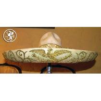 Sombrero De Charro Antiguo Aguilas Porfirianas