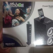 Corneta O Barra De Sonido Vertical Itower Click-on Bluetooth