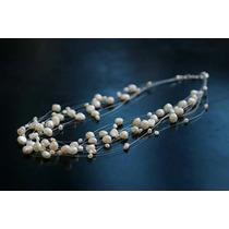 Collar Plata 925/perlas Cultivadas Ad,joya /envío Gratis