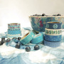 Washi Tape Masking Tape Deco Papel Craft Scrapbooking Azules