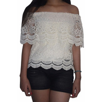 Bl1228 Blusa Campesina Beige, It Girls Colombia