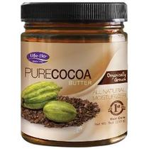 Pure Life-flo Orgánica Manteca De Cacao 9 Onza