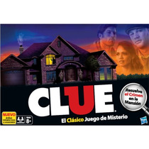 Clue Original Juego De Mesa De Misterio Hasbro