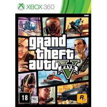 Gta 5 - Grand Theft Auto V - Xbox 360 - Midia Fisica Lacrado