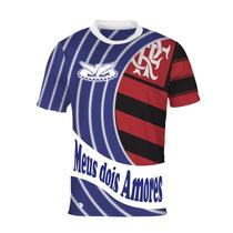 Camisa Meus Dois Amores - Portela E Flamengo