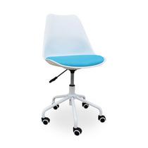 Cadeira Escritório Estudante Ajuste Altura S/ Braço Yata