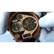 Relógio Diesel Dz7261 Original + Caixa Manual + Grande