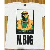 Camisa De Rap Hiphop 2pac Big Rick Ross Eminem Racionais Alg