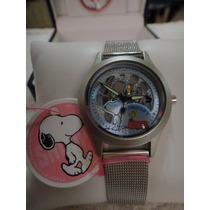 Relógio Snoopy Maquina Aparente Lindo !!!!