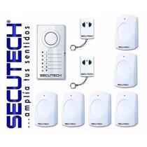 Sistema De Alarmas Secutech 6 Zonas