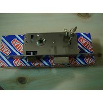 Kallay 4003,cerradura 4 Placas Tipo Standard Con 5 Llaves