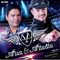 Cd Alan & Alladim * 25 Anos Vol. 14