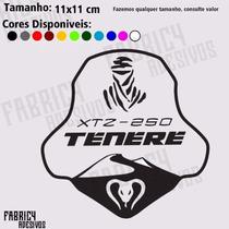 Adesivo Yamaha Tenere Xtz 250 Oficial Do Grupo Facebook