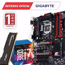 Kit Core I7 6700 + Gigabyte Ga-h170 Gaming 3 + 8gb Hyperx