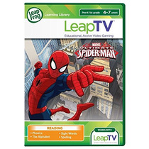 Leaptv Ultimate Spider-man Educativos, Activo Video Juego D