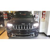 Jeep Grand Cherokee Overland! Negra 2016 Entrega En 10 Dias!