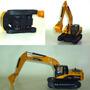Excavadora Pioneer A Escala 1:30 App. De 20 A 25 Cm. S/caja