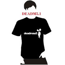 Playera Dj Deadmau5 Dama Hombre Niño Promocion 4 X 5