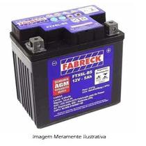 Bateria Moto Fabreck Ytx 5 Bs Cg 125 Titan Es Titan Ks 2001