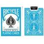 Cartas Bicycle Turquesa