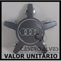 Calota Tampa Miolo Centro Roda Audi Krmai 5 Pontas 5x100