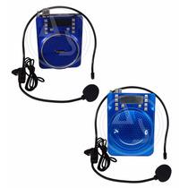 Amplificador Digital Portatil Recargable Para Voz P Maestros