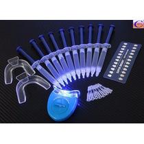 Kit Blanqueamiento Dental Con Lámpara Ultravioleta 44% Peróx