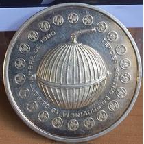 Medalla 1980 Pronosticos Deportivos 1 Onza Plata