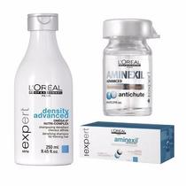 Ampolla Loreal Aminexil Caida Caja + Shampoo Tratamiento