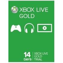 Xbox Live Gold Cartão 14 Dias Usa/br Código 25 Dígitos Leia!