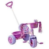 Triciclo Carrinho Infantil Princesa Sofia Motoca Tico Tico C