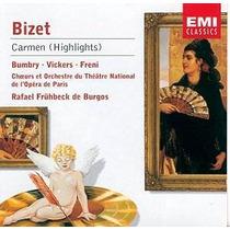 Carmen De Georges Bizet. 3 Cds