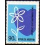 Col 00485 Argentina 931 Coração Flor Nnn