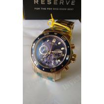 Relógio Invicta 21923 Prodiver/antigo 0073- Folhado Ouro 18k