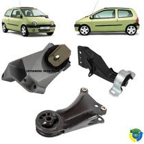 Coxim Motor Ld Direito Esquerdo + Cambio Renault Twingo 1.0