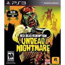 Ps3 - Red Dead Redemption Undead Nightmare -míd Fís- Lacrado