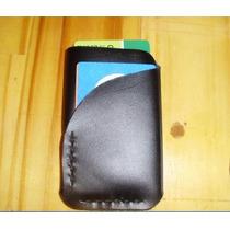 Porta Cartões Cnh Minimal Carteira Couro Legítimo Artesanal