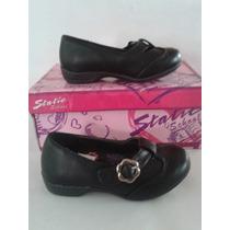 Zapatos Colegiales Negros Para Niñas Static School