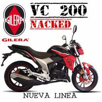 Moto Gilera Vc 200 Nacked 2016 0km
