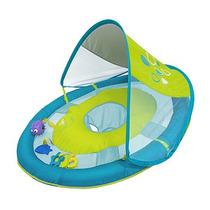 Salvavidas Flotador Con Toldo Y Juguetes Para Bebe Swimways