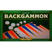 Backgammon Implas Original Juego De Mesa Clasico En Smile