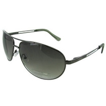 Gafas Kenneth Cole Reaction Kc1069 Aviator Shiny Gunmetal /