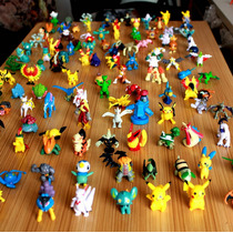 Kit Coleção Pokémon 144 Bonecos Miniaturas 2~3cm Tem Pikach