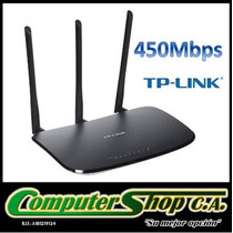 Router Inalambrico De 450mbps/tp-link / Tl-wr940n/ 3 Antenas