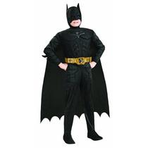 Disfraz Batman Dark Knight 100% Original Para Niño Large
