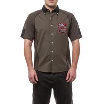 Camisa Ls2 Manga Corta Patrick Oficial Talles Xs S M L Xl Xx
