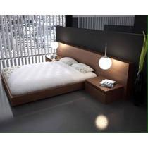 Juego De Dormitorio Minimalista Moderno Cama Box Progetto