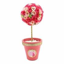 Centro De Mesa Arreglo Floral Foamy Boda Xv Años Cumpleaños