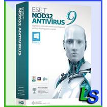 Eset Nod32 Antivirus 9 - 1 Año 3 Computadoras - Facturamos